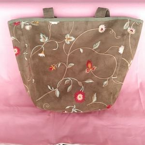 Sally Spicer Embroidered Bag